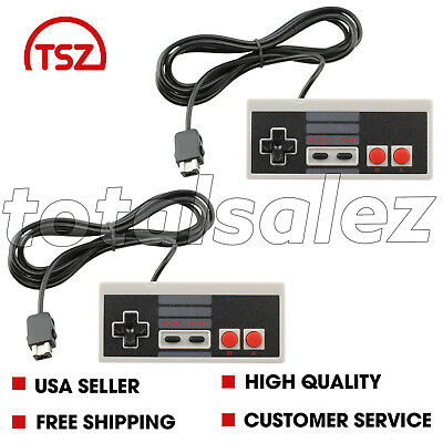 2 For Nintendo NES Classic Edition Mini Video System Game Pad Controller