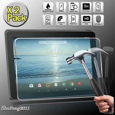 """2 Pack Tempered Glass Screen Protector For RCA 10 Viking Pro RCT6303W87DK 10.1"""""""