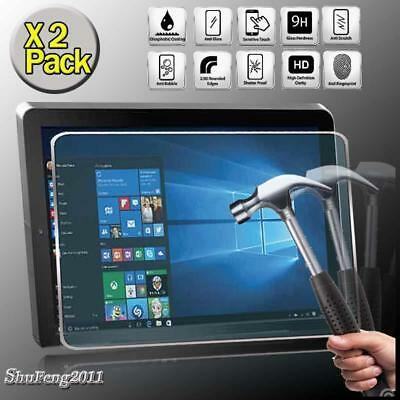 2 Pack Tempered Glass Screen Protector For RCA Cambio W101 V2 10.1 inch Tablet