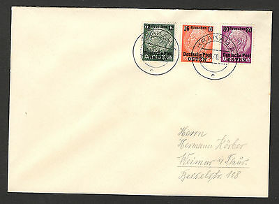 WWII-GERMANY OCC POLAND-OSTEN , GENERALGOUVERNEMENT-INTERESTED LETTER (3 s)-1940