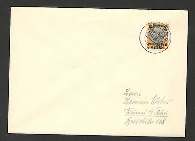 WWII-GERMANY OCC POLAND-OSTEN, GENERALGOUVERNEMENT-INTERESTED LETTER (1 s)-1940.