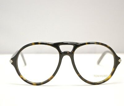493866925da9 Authentic New Tom Ford TF5290 56F Tortoise Eyeglasses Made in Italy  TF1064