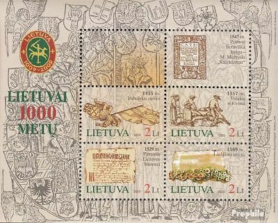 Lithuania block31 (complete.issue.) unmounted mint / never hinged 2005 1000 year