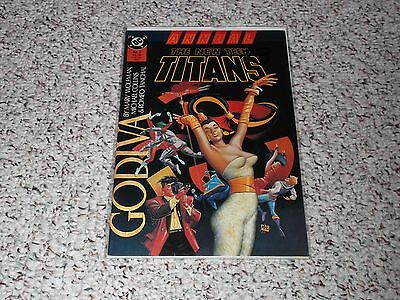 The New Teen Titans Annual #3 DC Comic Book (1987) $2.95 CP - Wolfman Collins