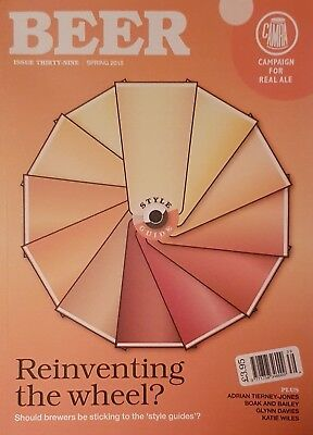 CAMRA Beer magazine issue 39 Spring 2018 (real ale, pubs, brewing, craft beer)