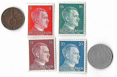 Rare Very Old German WWII WW2 Germany Coin Stamp Great War Collection Lot US/257