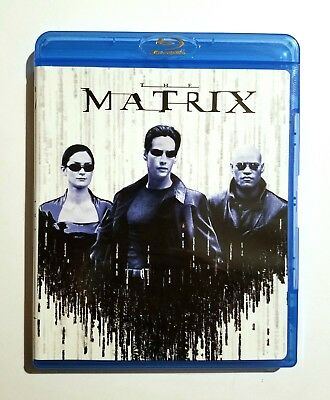 The Matrix (1999) Like New Blu-ray Keanu Reeves, Laurence Fishburne