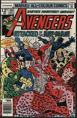 Avengers #161 Vs Ant-Man! George Perez Art Very Glossy 9.0 With White Pages