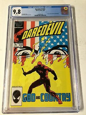 Daredevil 232 Cgc 9.8 White Pages 0349301024