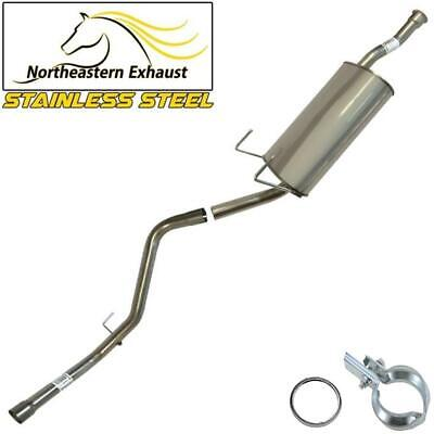 Stainless Steel Direct Fit Muffler and Tail Pipe fits: 2000 - 2006 Toyota Tundra