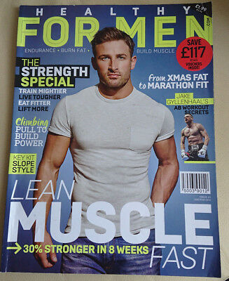 HEALTHY FOR MEN MAGAZINE Strength Special / Lean Muscle Jake Gyllenhaal Workout