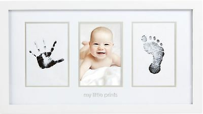 "Pearhead Born Baby Handprint Or Footprint ""Clean-Touch"" Ink Pad 2 Uses Bla Easy"