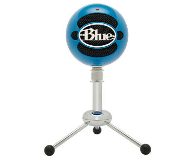 Blue Microphones Snowball Professional USB Microphone - Neon Blue