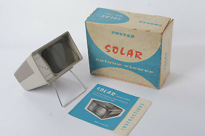"Photax Solar 2x2 Slide Viewer for 35mm slides / any that fit 2"" square Mount"
