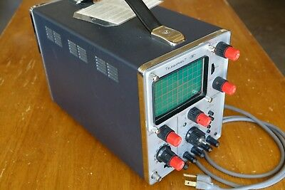 Oscilloscope S54A Telequipment Made in England VINTAGE Powers On