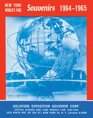 New York World's Fair 1964-65 Wholesale Souvenir Catalog Reprint. 100s of items