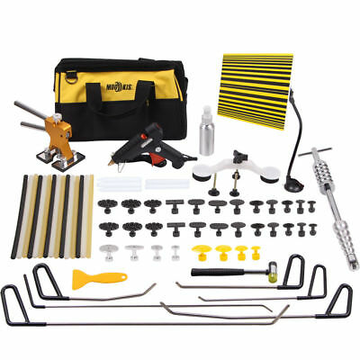 PDR Paintless Dent Removal Tools Puller Lifter Hail Repair Slide Hammer Rod Kit