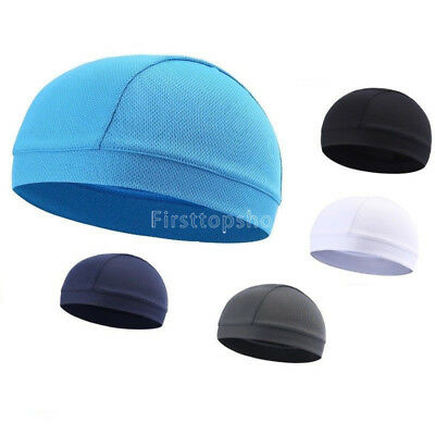 Skull Cap Cycling Running Helmet Liner Outdoor Hats Breathable Sports Beanie New
