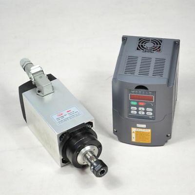 3Kw Cnc Air-Cooled Motor Spindle Varied Frequency Drive  Vfd Inverter