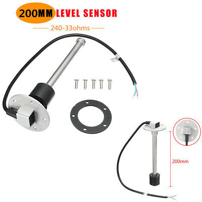 200mm Boat Marine Tank Level Sender Car Truck Water Fuel Gauge Sensor 240-33ohms