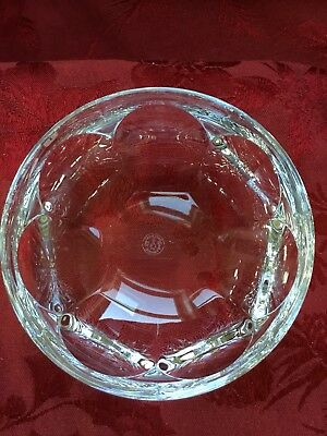 FLAWLESS Stunning BACCARAT France Art Blown Glass HARCOURT Crystal BOWL DISH