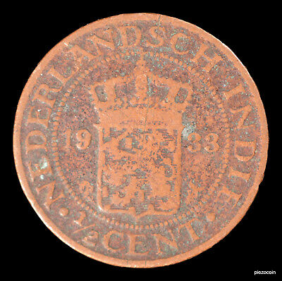Netherlands East Indies 1/2 Cent 1933 #a318