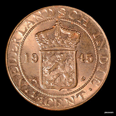 Netherlands East Indies 1/2 Cent 1945 #a750