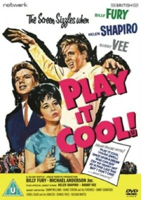 Play It Cool! (Billy Fury Bobby Vee Helen Shapiro) Brand New Region 2 DVD