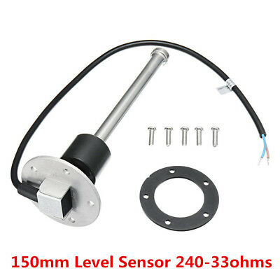 150mm Fuel Sending Unit Marine Boat Truck RV Water Level Gauge Sensor 240-33ohms
