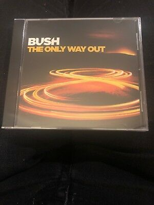 """Bush """"The Only Way Out"""" CD single From Man On The Run album NEW sealed 2014"""