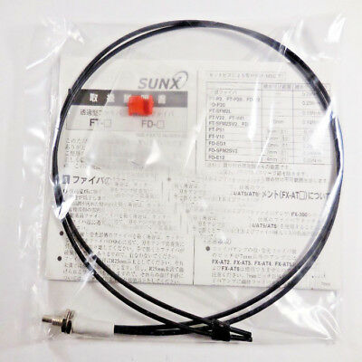 H● SUNX FD-EG3 Diffuse Coaxial Threaded M3 R10 Fiber Optic Cable Obsolete