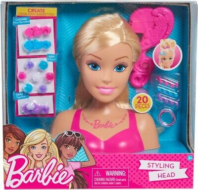 NEW Barbie Styling Head from Mr Toys