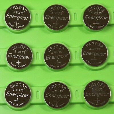 [ Pack of 10 ] Energizer Cr2032 3v Lithium Coin Cell Battery Dl2032 Ecr20... New