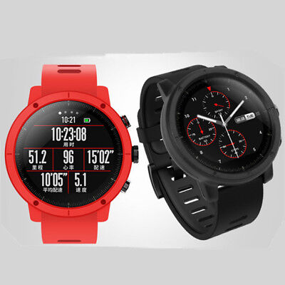 For Huami Amazfit Stratos 2/2S Smart Watch Cover Case Bumper Protective PC Case