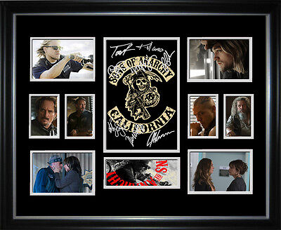 Sons Of Anarchy Limited Edition Signed Framed Memorabilia