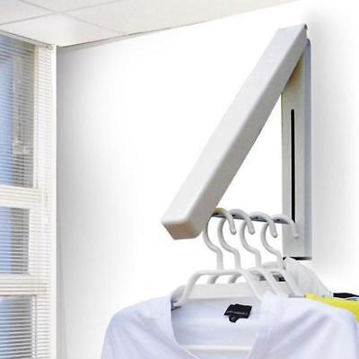 Folding Hanger Wall Hanging Retractable Clothes Hangers Storage Hotel Home Tool