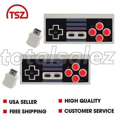 2 For Nintendo NES Classic Edition Mini Video Game Pad Wireless Controller