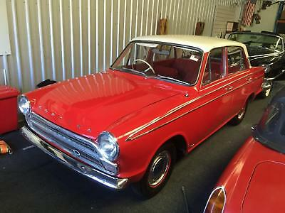 ... A genuine 1965 Ford Cortina Mk1 GT four door - never welded!