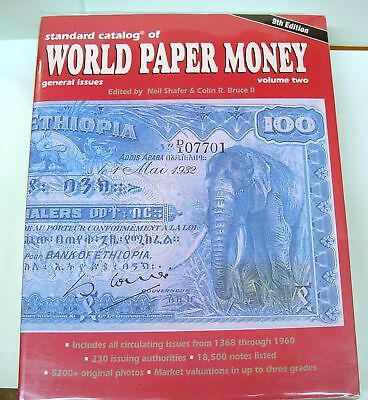 Standard Catalog of World Paper Money 9th edition vol. 2 (1368 - 1960)