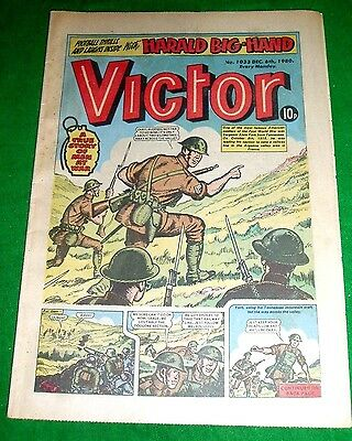 Sgt ALVIN YORK U.S. FORCES KILLS 25 IN 1 DAY  WW2 COVER STORY VICTOR COMIC 1980
