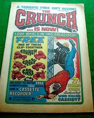 The Crunch Comic    Rare Early Issue  #4  10/2/1979