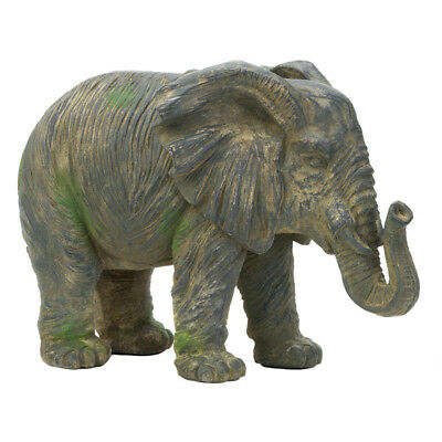 Accent Plus - Weathered Elephant Statue