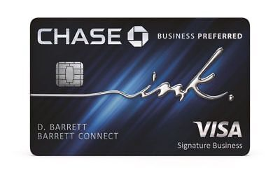 80K+$100 Sign Up Bonus Chase Ink Preferred Business Credit Card Reward Referral