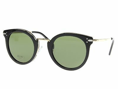 b480a5dc42d Celine 41373 S ANW Black Gold 41373 S Round Sunglasses Lens Category 3 Size
