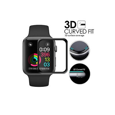 Tempered Glass Screen Protector For Apple Watch (Series 2 / 3) 42mm