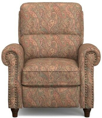 Cool Paisley Push Back Recliner Chair Seat Decorative Living Pdpeps Interior Chair Design Pdpepsorg