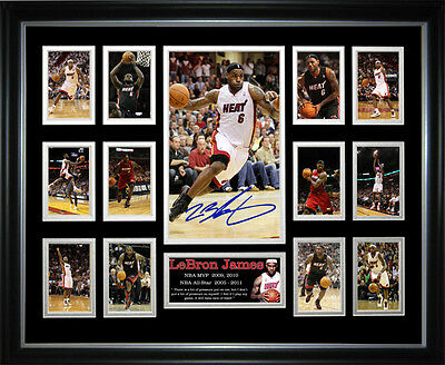 Lebron James Framed Memorabilia
