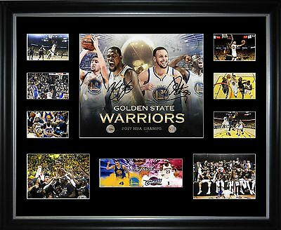 Golden State Warriors 2017 NBA Champions Limited Edition Framed Memorabilia