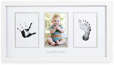 Pearhead Babyprints 4-Inch x 6-Inch Photo Frame in White