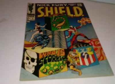 Nick Fury SHIELD #1 1968 Comic Book